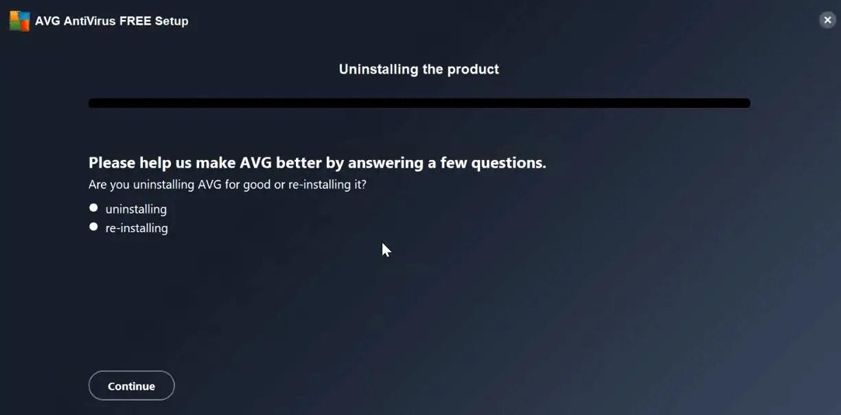uninstalling-avg-progress-bar