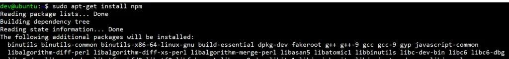 Fix-npm-command-not-found-ubuntu