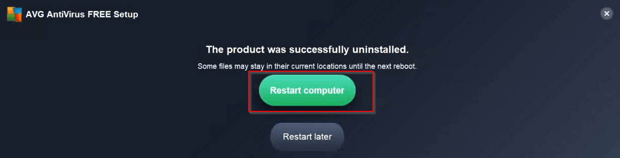 Restart-computer-to-finish-avg-uninstall