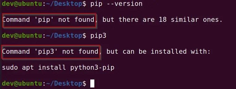 check-pip-version