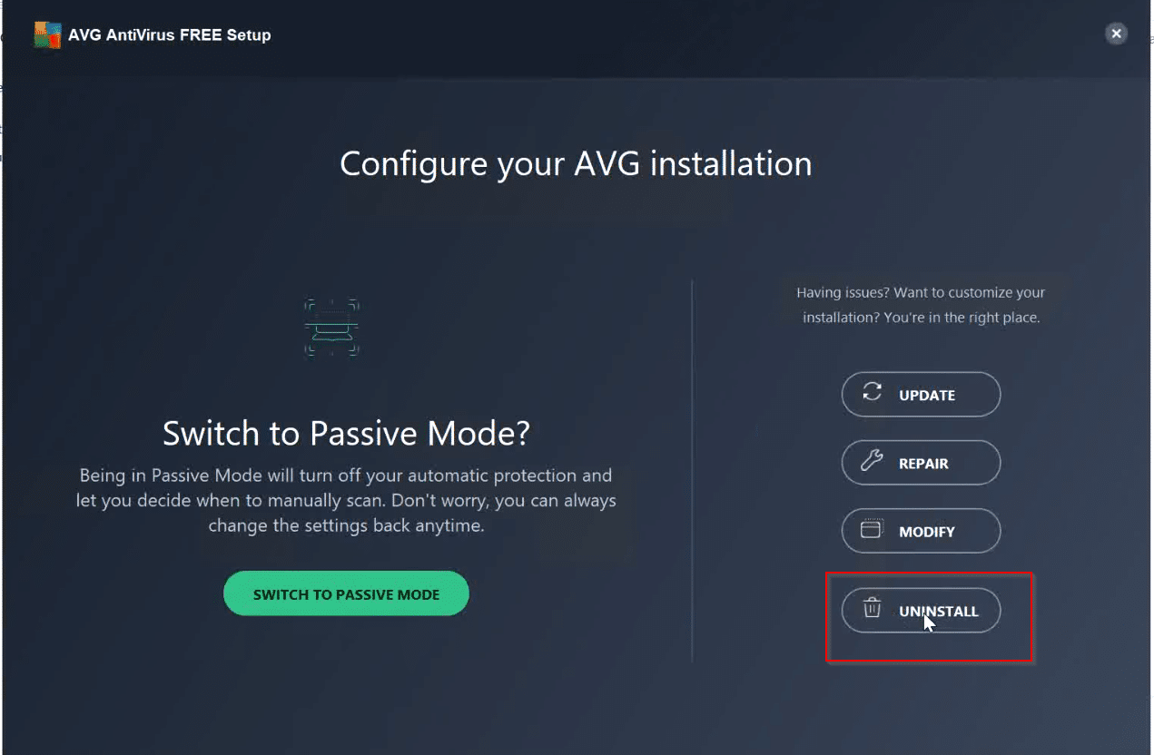 AVG-uninstall-window-box
