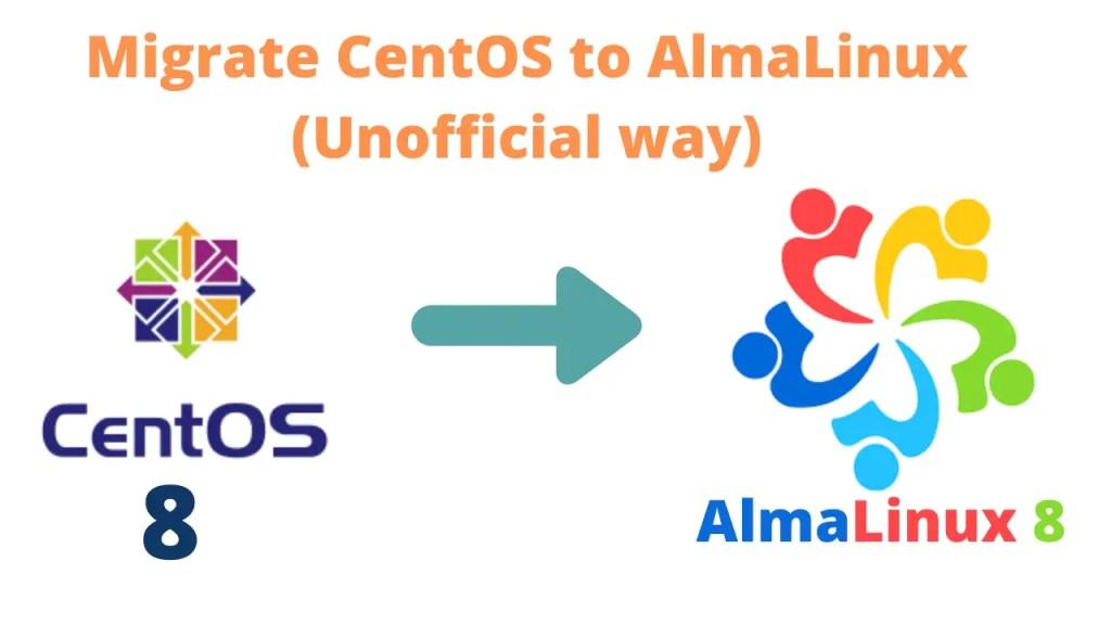 Migrate-Centos-8-to-AlmaLinux-8.3