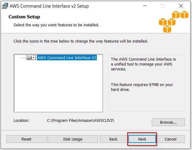 Install-AWS-CLI-V2-features