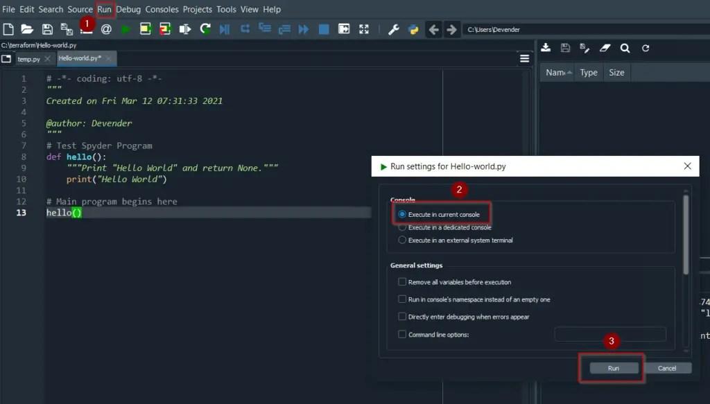 How-to-use-Spyder-Python