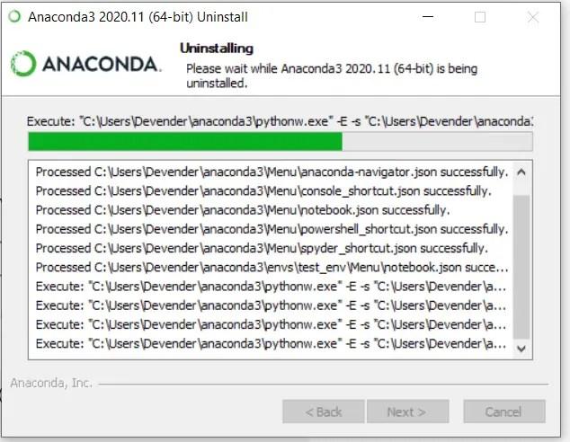 Uninstall-progress-bar