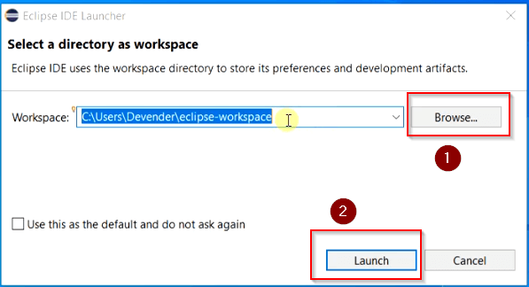 Select-Eclipse-Workspace