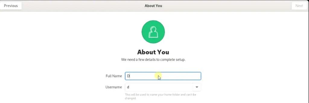 setup-fedora-user