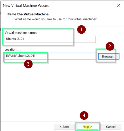 Give-Ubuntu-virtual-machine-name-location