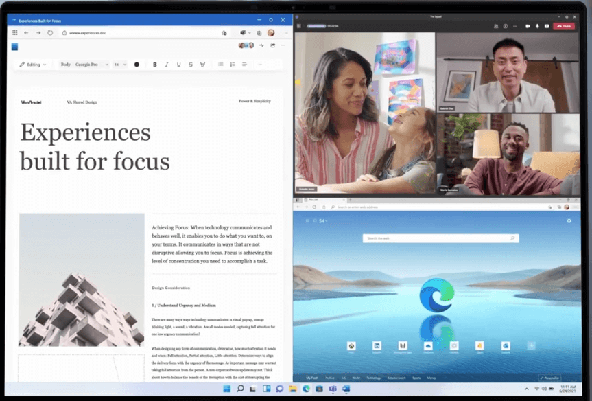 Multitasking-and-snap-layout