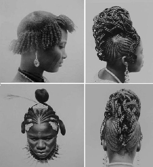 BEAUTY AND FASHION Then And Now African Hairstyles