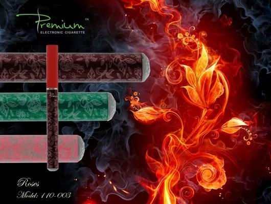 Premium electronic cigarette designs