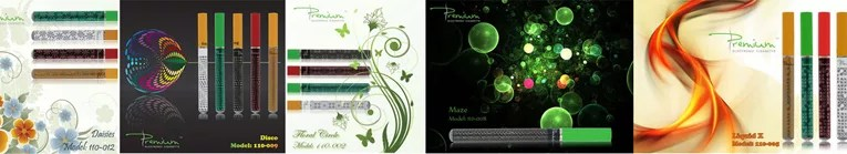 Premium Vapes designer e-cigarettes