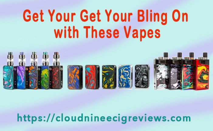 Get Your Bling On with These Vapes-Title image