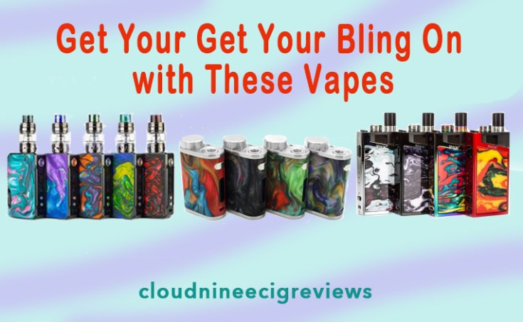Colorful Box Style Vaporizers