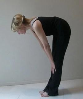 easy yoga hamstring stretch
