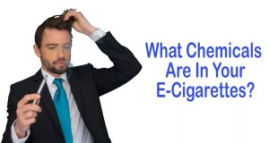 What Chemicals Are in Your Ecigarettes?