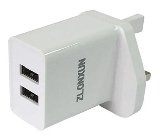 2 port USB for UK