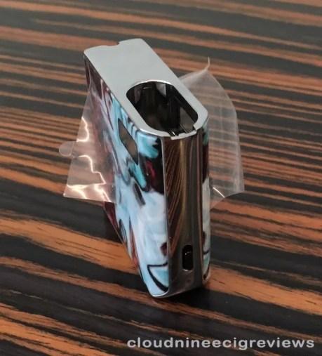 smok mico showing protective plastic film