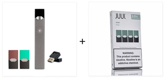 Juul Kit with pod box