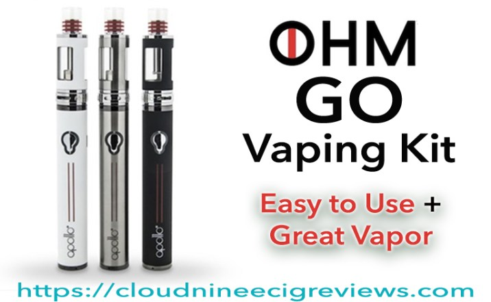 OHM GO Vaping Kit Review Title Image