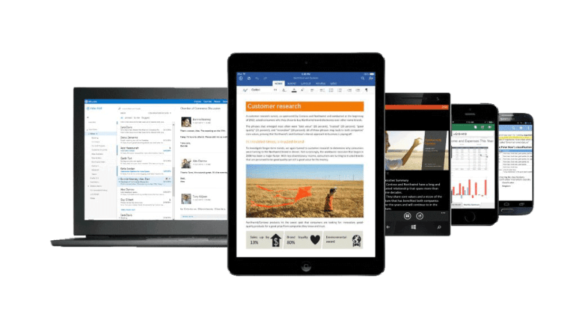 office on multiple devices