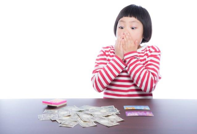 小5、小3の娘でもできる現金出納帳の書き方