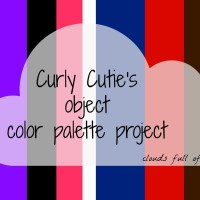 Curly Cutie's object color palettes