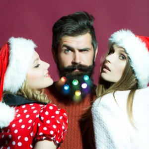 christmas beard