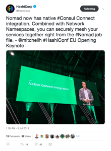 Key takeaways from HashiConf EU Consul connect