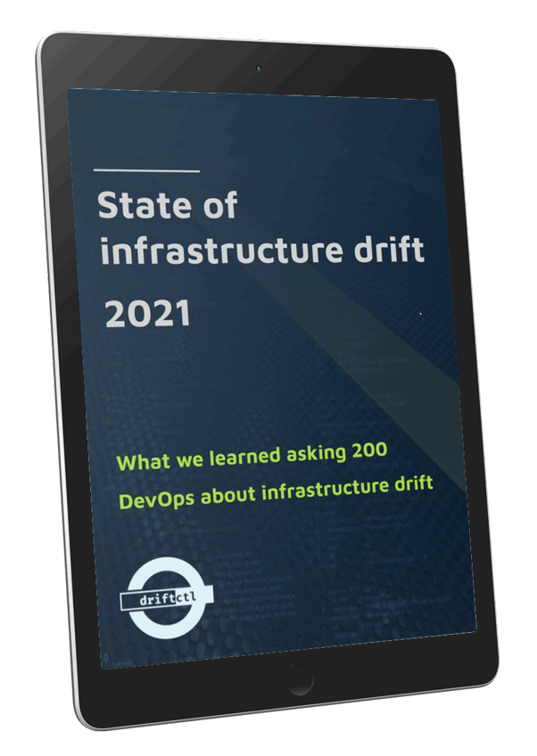 state of infrastructure drift