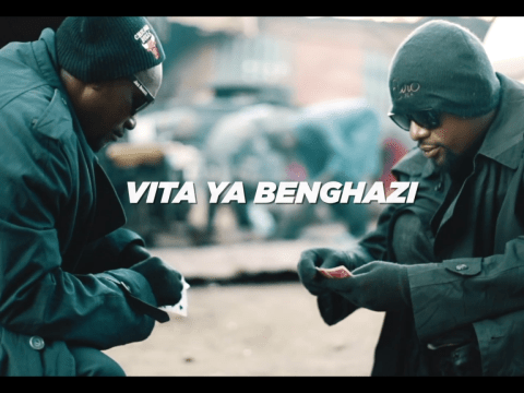 VIDEO: Nikki Mbishi X K Wa Mapacha – VITA YA BENGHAZI Mp4 DOWNLOAD