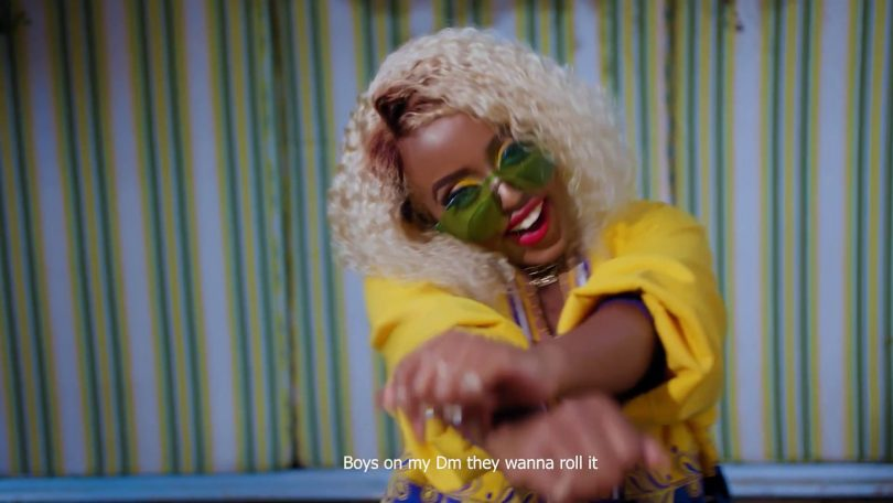 Video Nadia Mukami – Million Dollar Mp4 Download