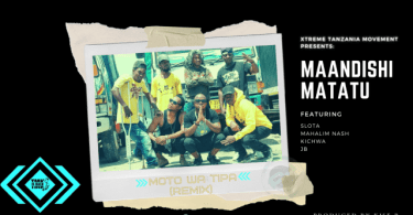 AUDIO: TMK Maandishi Matatu Ft Slota, Kichwa, JB, Mahalim Nash – Moto Wa Tipa Remix Mp3 Download