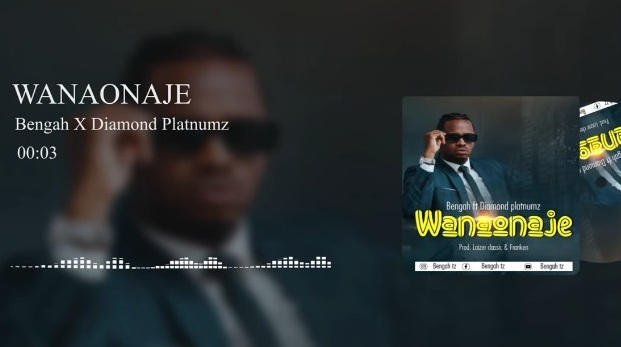 AUDIO: Bengah Ft Diamond Platnumz - Wanaonaje Mp3 Download