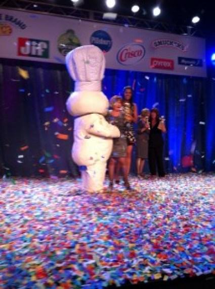 Pillsbury Bake-Off Glori Spriggs award ceremony winner