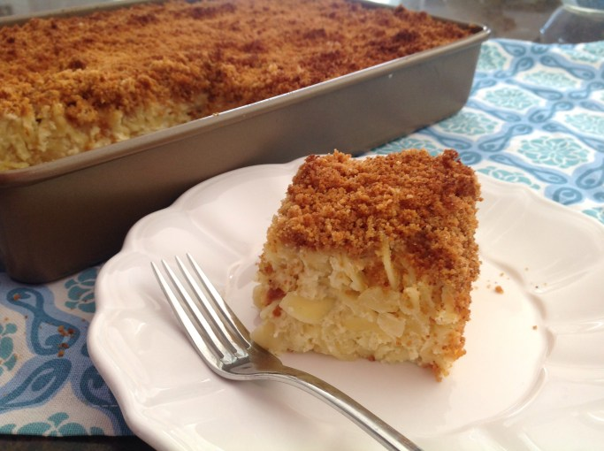 For the Love of All Things Dairy (Kugel!)