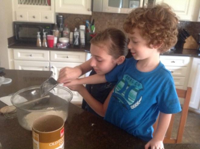 kids love to help