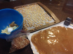 Nut Free Pie Crust Clusters ingredients