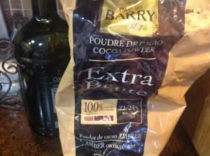 Cacao Barry Extra Brute for our Brigadeiros