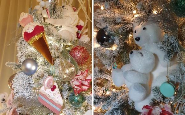 Елена Ксенофонтова нарядила новогоднюю елку для Леры ...
