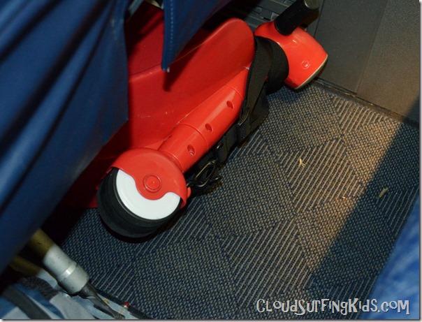 SkootCase on Airplane