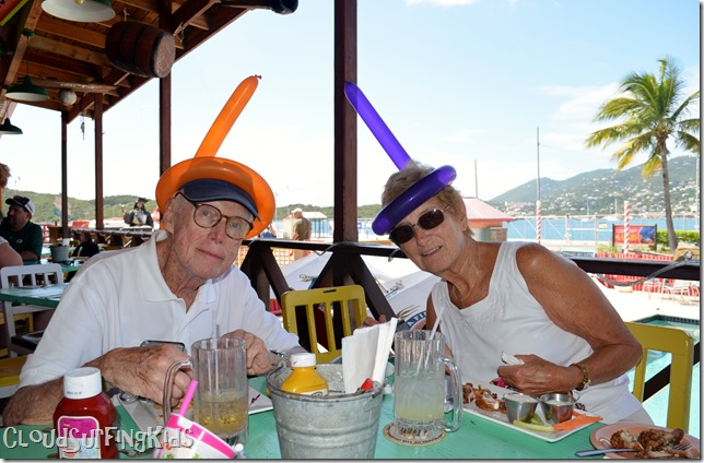 Charlotte Amalie Senor Frogs Grandparents