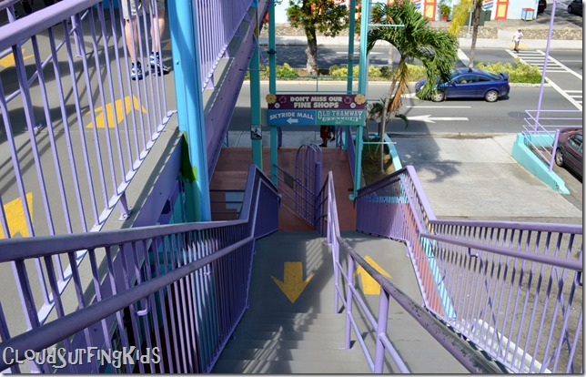 Charlotte Amalie SkyRide Stairs