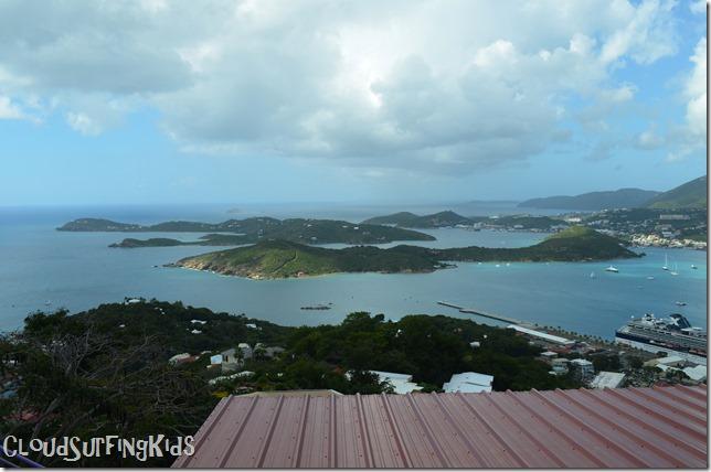 Charlotte Amalie Skyride Island View