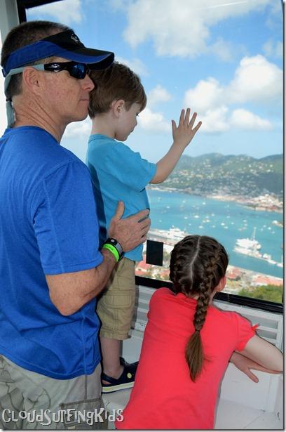 Charlotte Amalie Skyride Kids Enjoy
