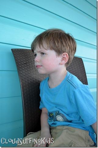 Charlotte Amalie Skyride Tired Preschooler