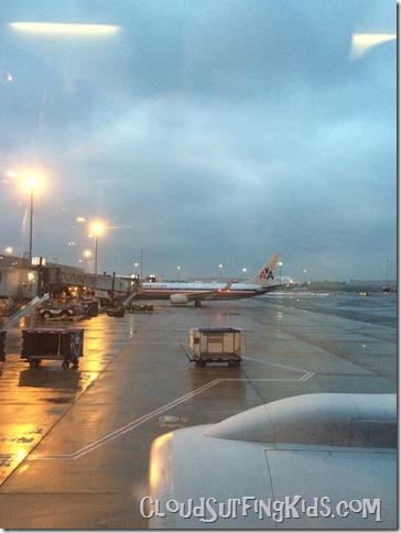 Travel Day JFK at dawn