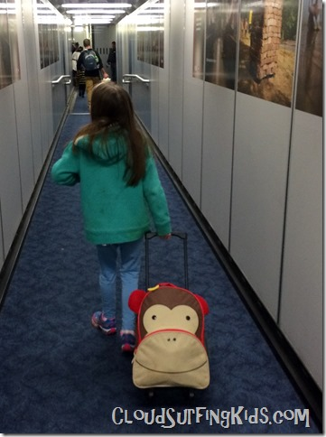 Travel Day Jetbridge Walk Monkey Bag