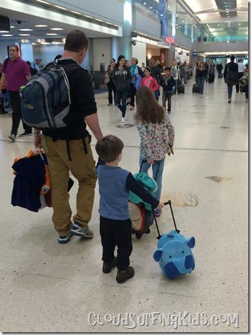 Travel Day- MIA airport
