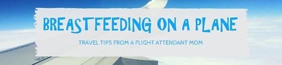 breastfeeding on a plane